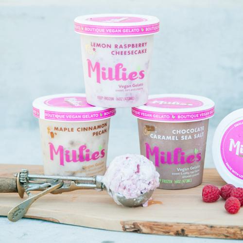 Millies Gelato | Food Photography Vegan Ice Cream Gelato