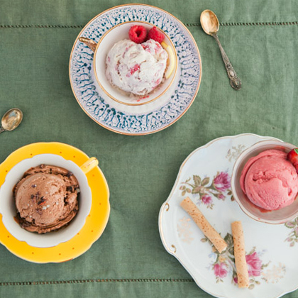 Ice Cream Gelato Presentation in Food Photography | San Diego
