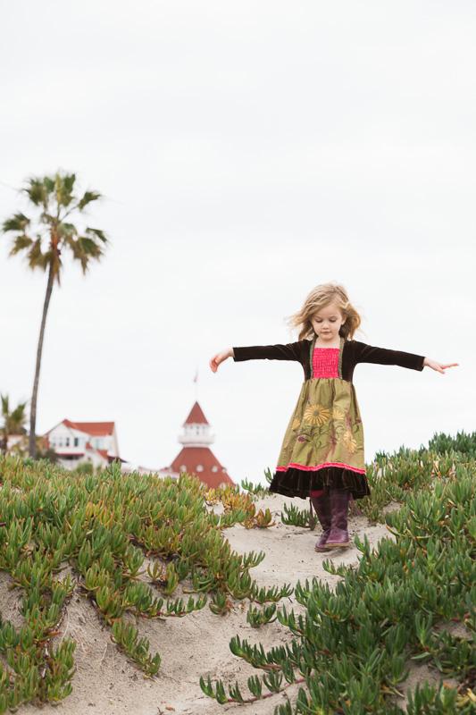 Hotel Dell Coronado Family Photography - San Diego Beach Photographer