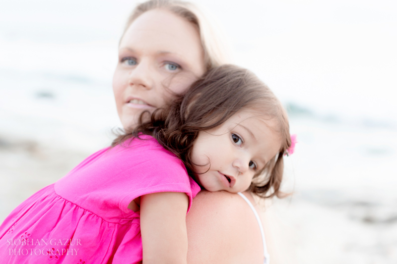 San Diego Family Photography La Jolla Solana Beach Photo Session | Mom and Daughter