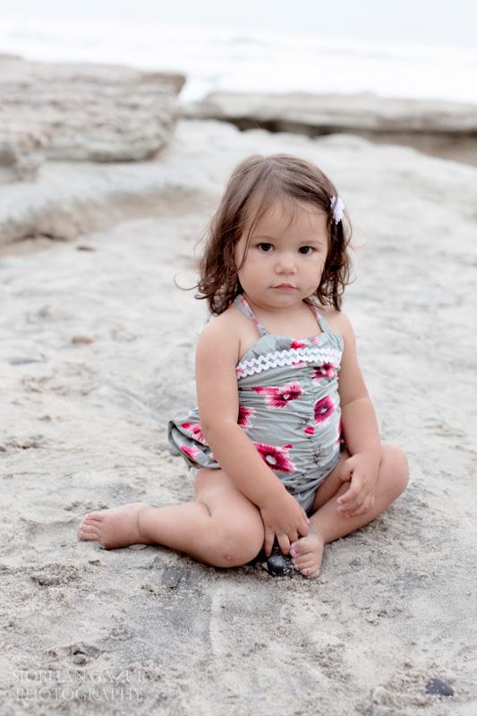 San Diego Family Photography, Little Girl Styled in Dagmar Daley Sun Suit