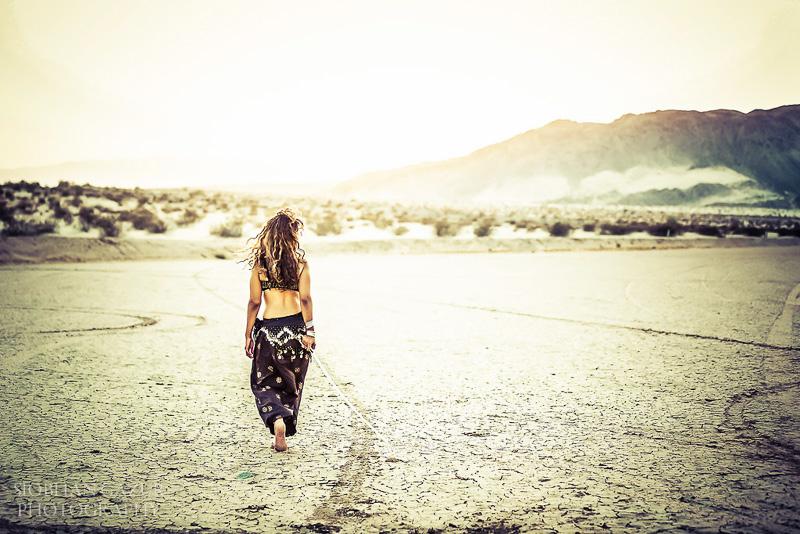 San Diego Fashion Photography | Portrait of a Woman, Artist, Musician, California Desert