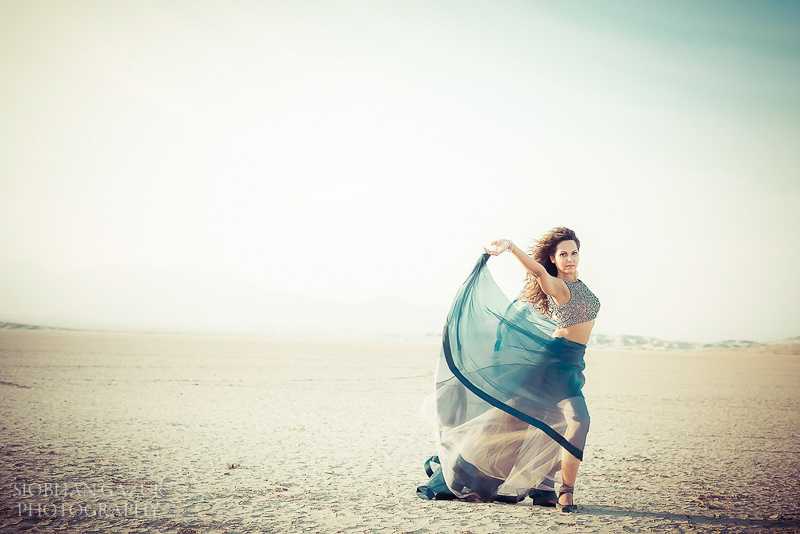 San Diego Fashion Portrait Photographer for Woman - California Desert Session