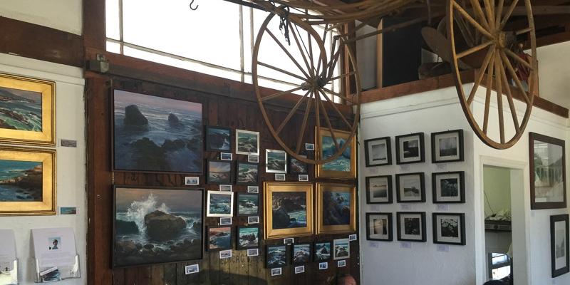 San Diego Fine Art Photography and Paintings in Encinitas | Pannikin Coffee & Tea