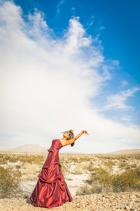 San Diego Portrait Photographer - Portrait of a Musician - California Desert