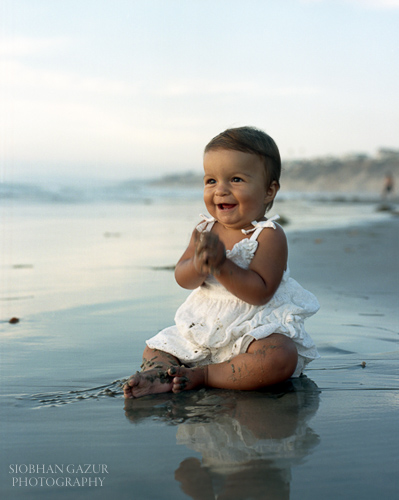 San Diego Family Photography Tips for Beach Portraits Baby Ideas