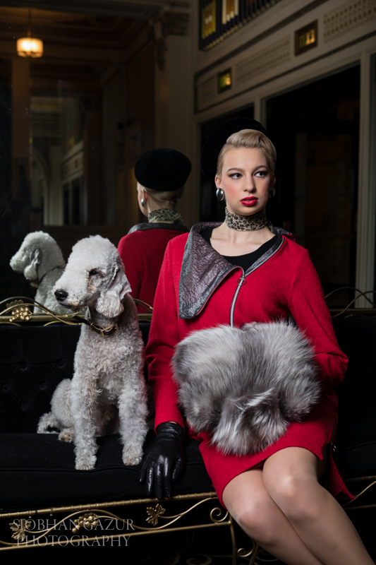 San Diego Fashion Photographer | Woman With Dog
