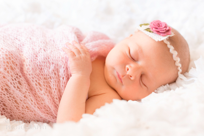 San Diego Newborn Photographer | Sleeping Baby