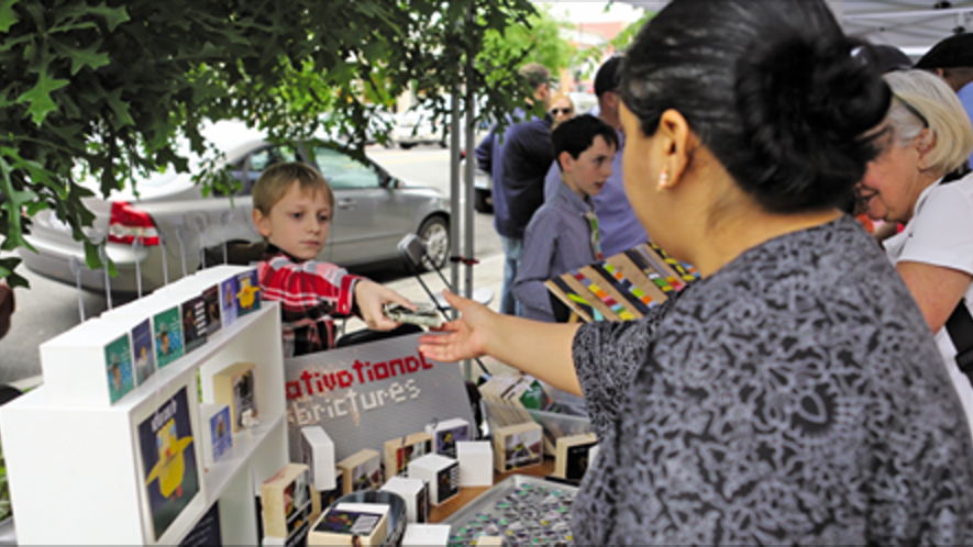 Current Newspapers: Wee entrepreneurs compete in Cleveland Park business fair -