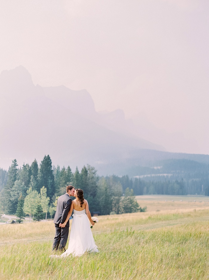 Silvertip Wedding | Canmore Wedding Photographers | Justine Milton Photography
