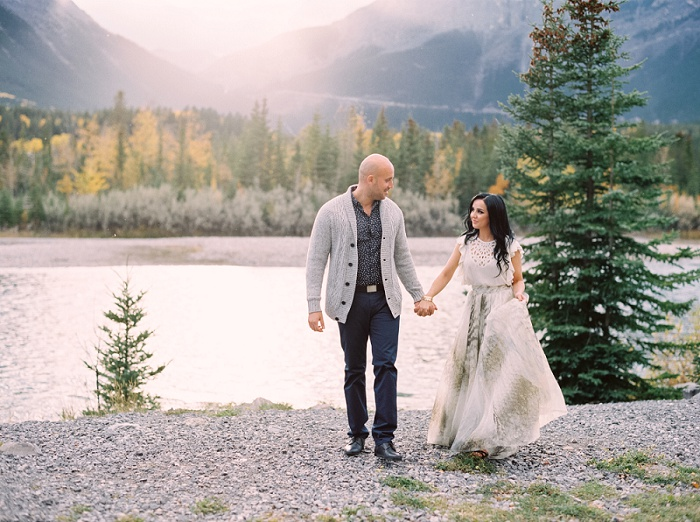 Canmore Wedding Photographers | Canmore Engagement Session | Justine Milton Photography
