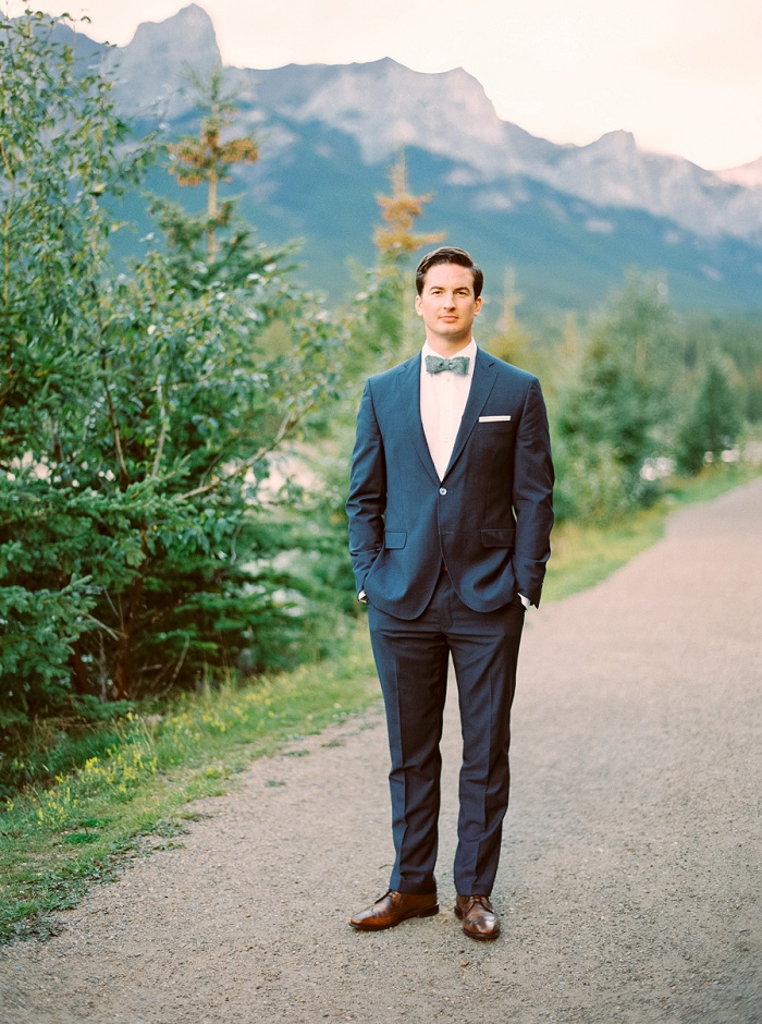 Mountain Elopement | Canmore Wedding Photographers | Justine Milton Photography