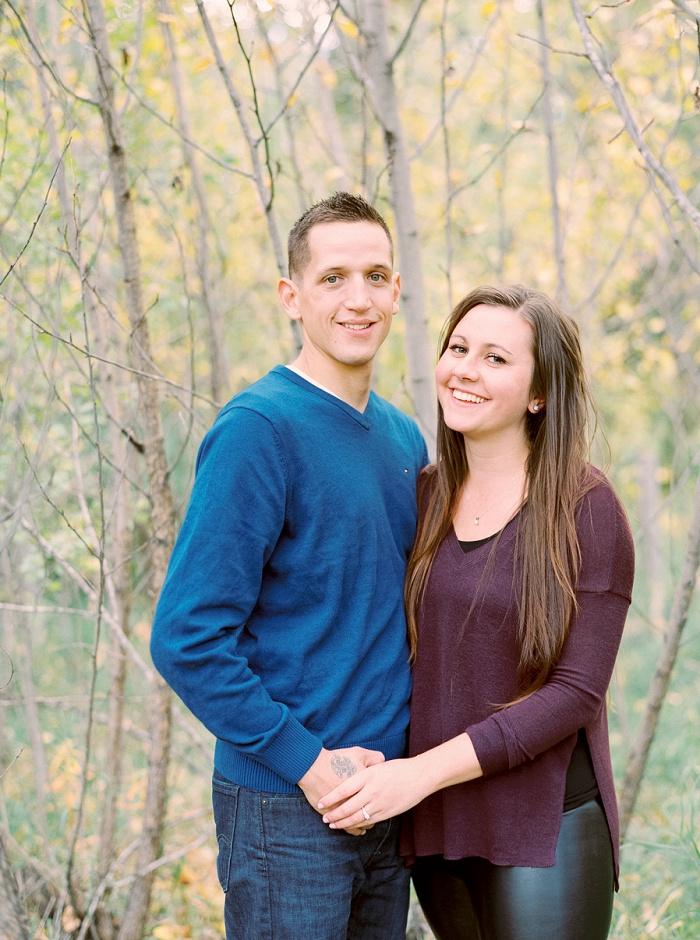 Calgary Wedding Photographers | Edmonton River Valley Engagement Session | Justine Milton Photography