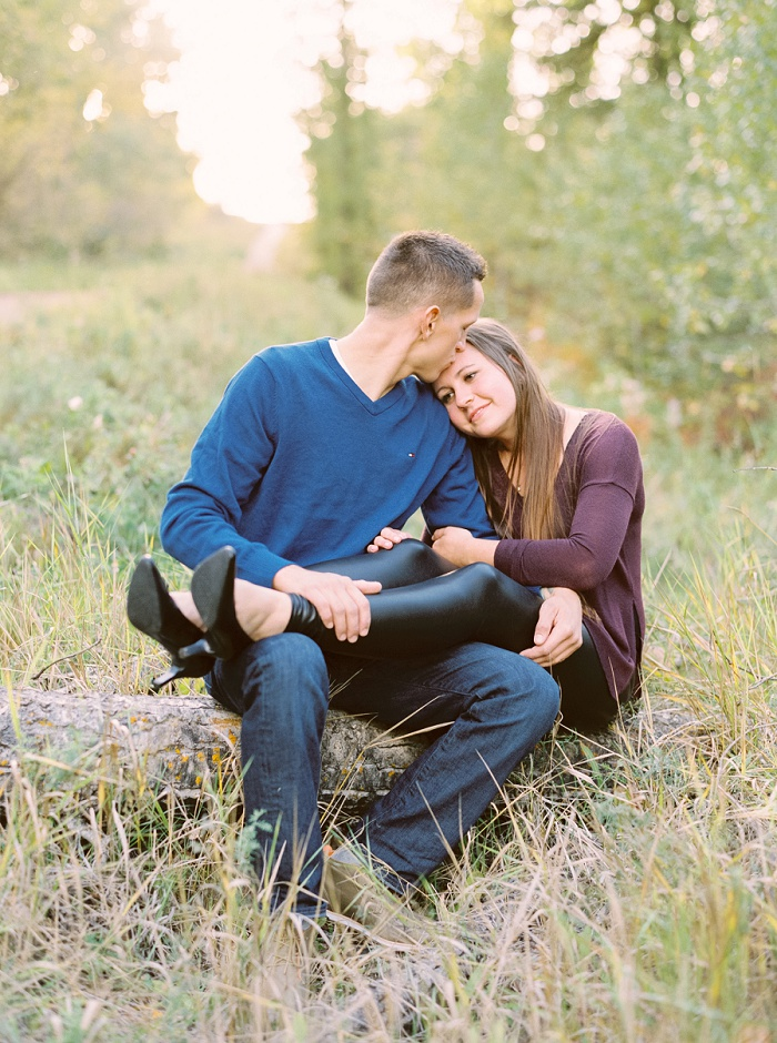 Calgary Wedding Photographers | Edmonton River Valley Engagement Session | Justine Milton Photography