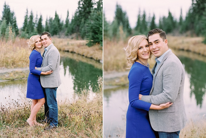 Calgary Wedding Photographers | Priddis Engagement Session | Justine Milton Photography