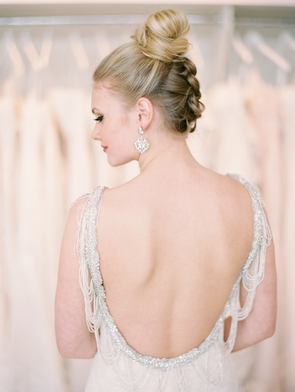 Calgary Wedding Photographers | The Bridal Boutique Calgary | Commercial Photographer | Wedding Dress Editorial