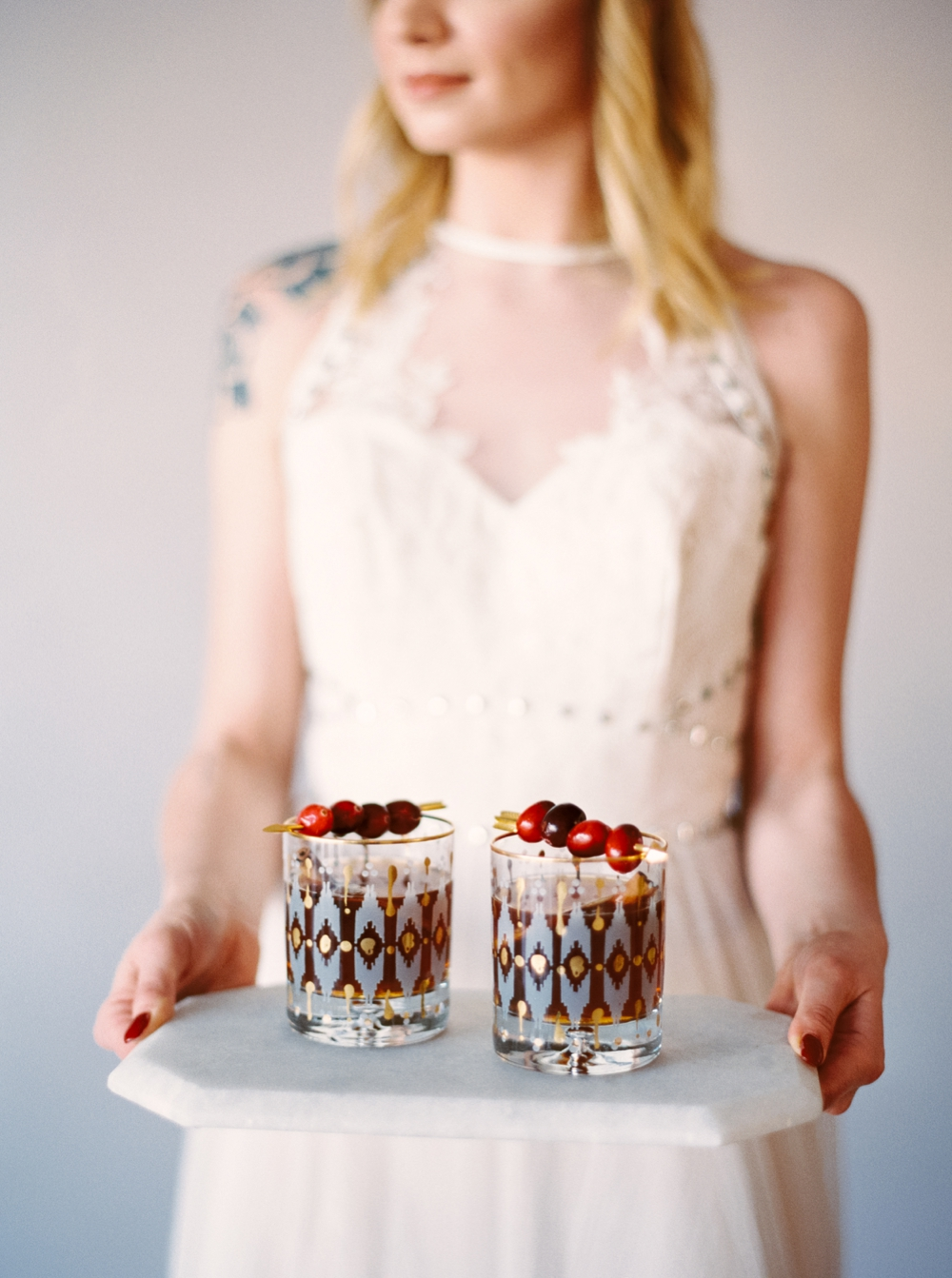 rocker wedding inspiration | hayley paige dress | editorial photographer