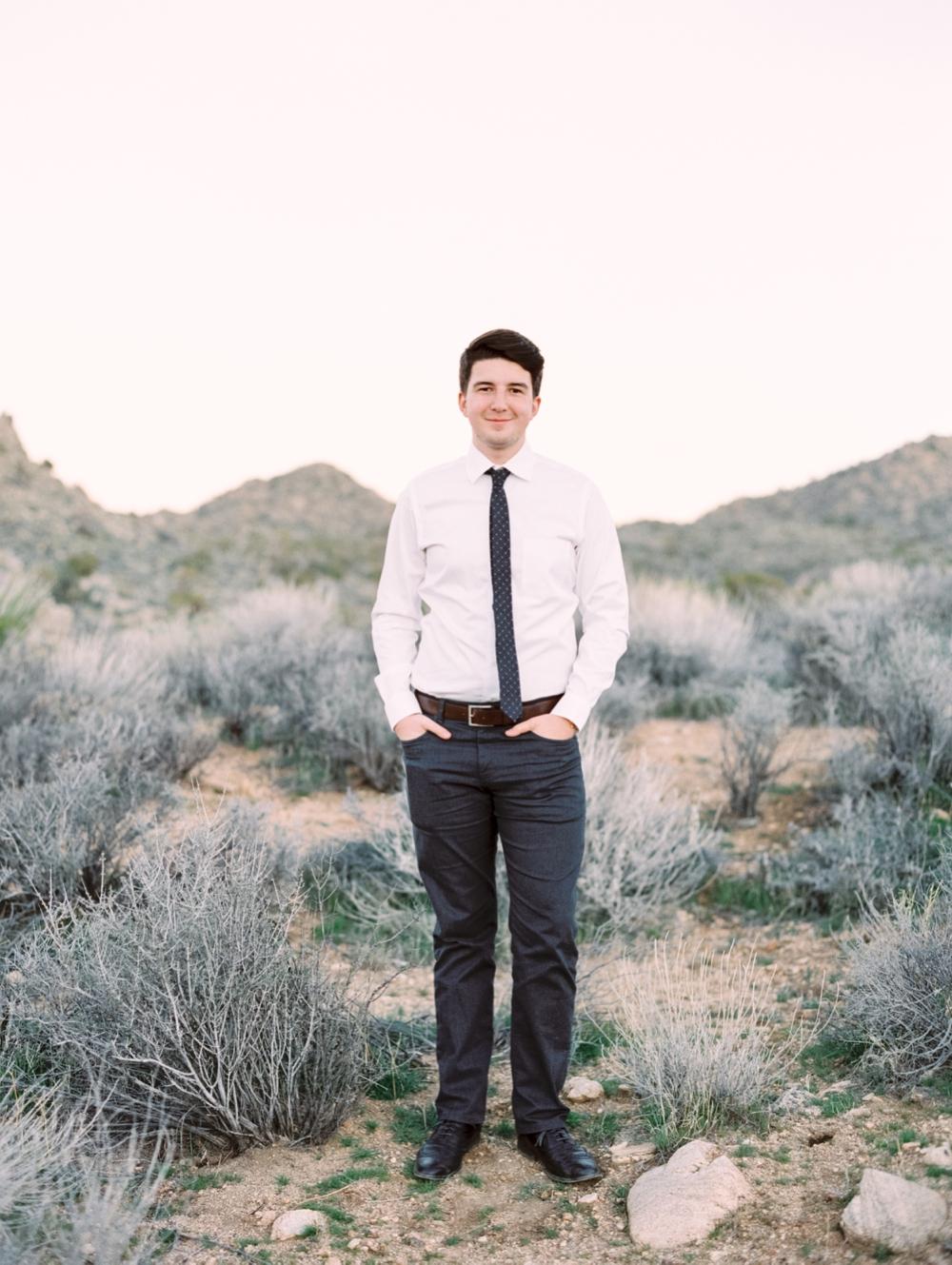 California wedding photographer | headshots | Joshua Tree photography