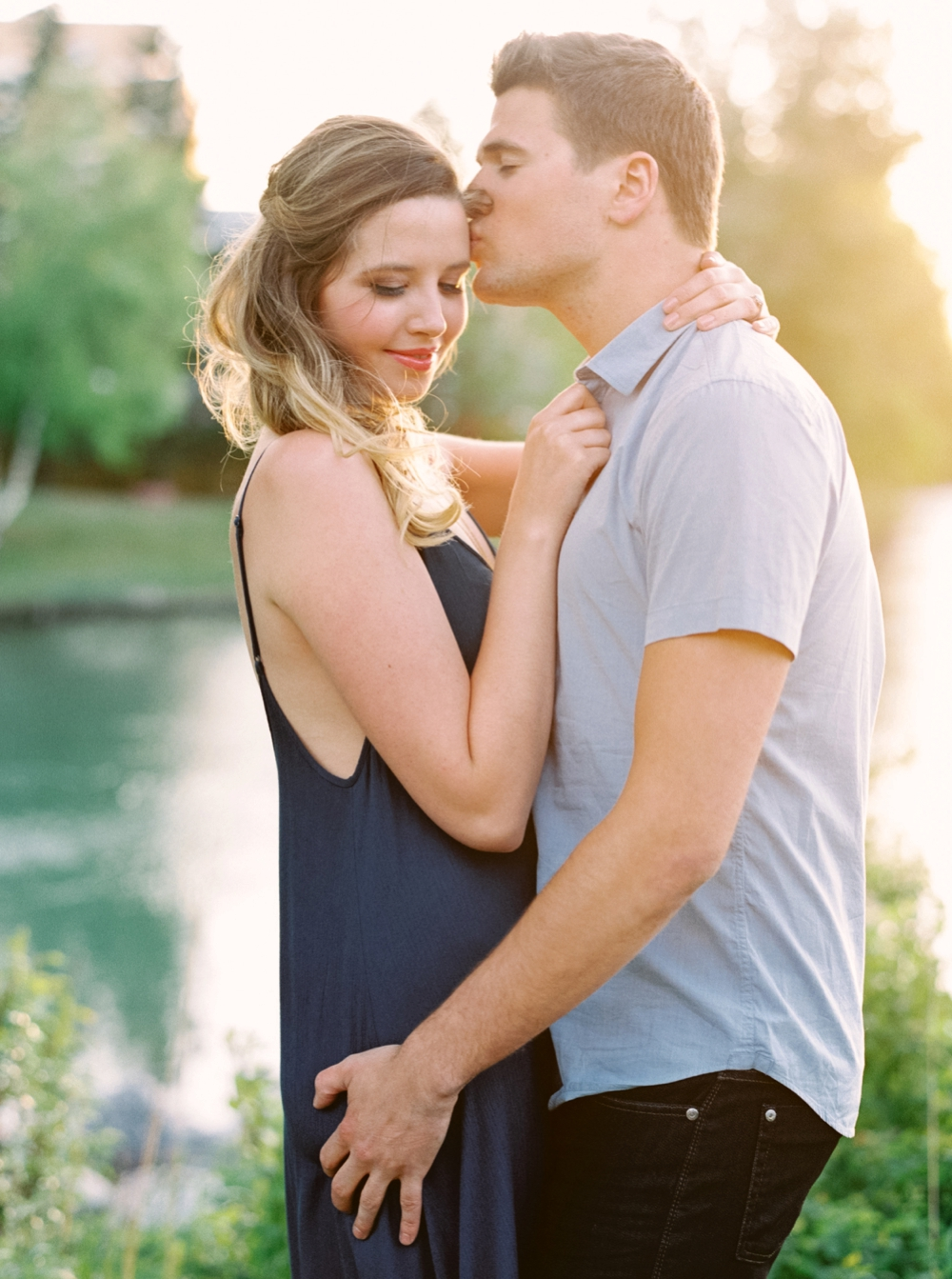 Calgary Wedding Photographers | Luminous The Workshop | Mission Engagement Session