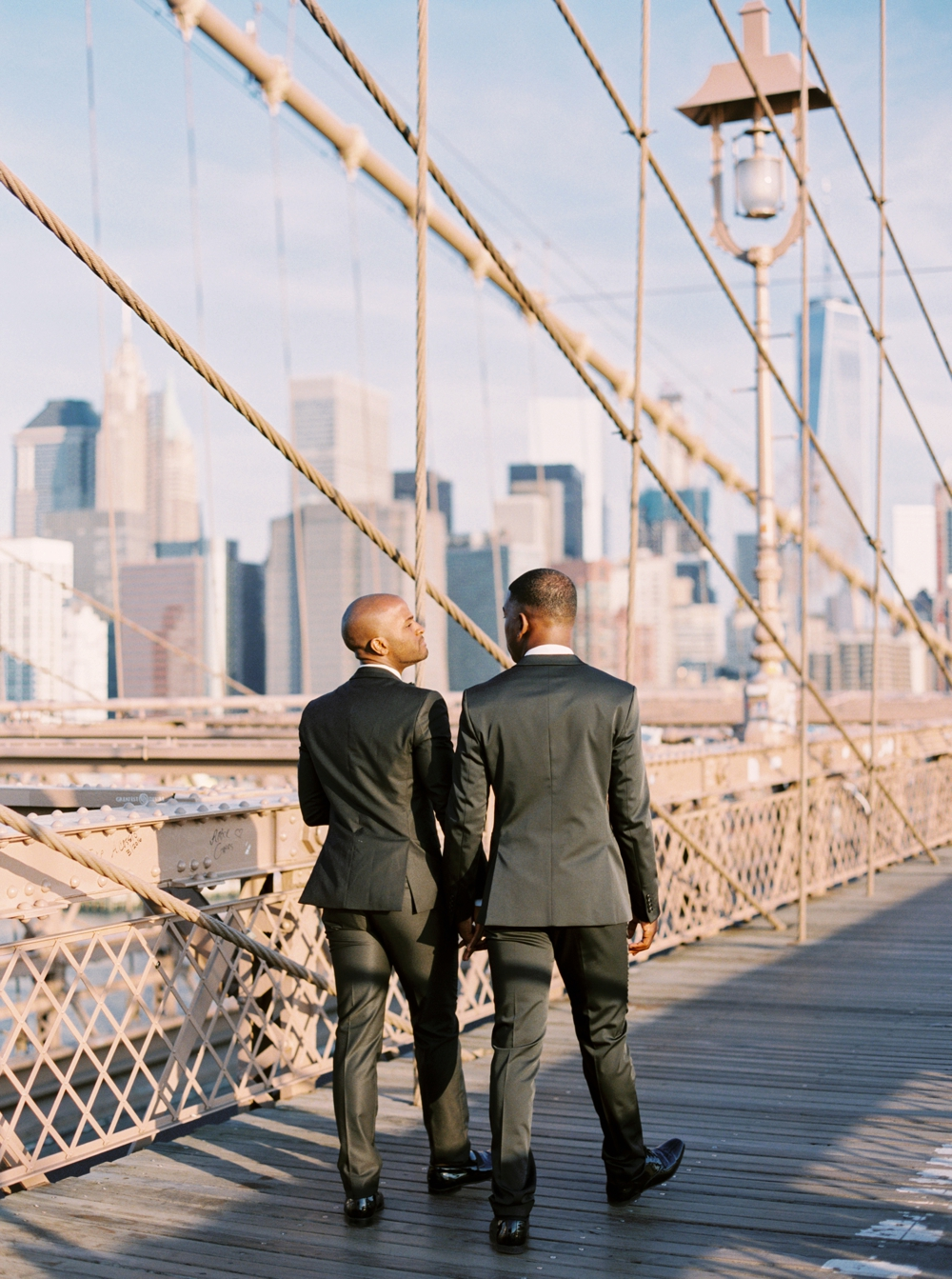 NYC Photographer | Calgary Wedding Photographers | Brooklyn Engagement Session | Gay Couple | New York City Engagement Photos