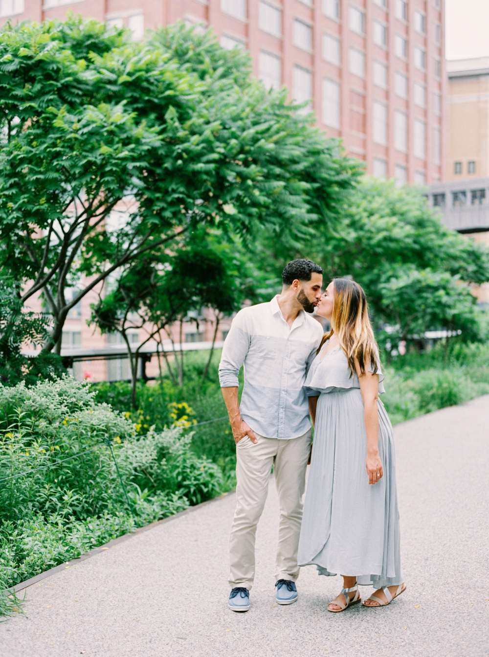 New York City High Line | Engagement Photography | Engagement Session | Amal & Muhamed | NYC Engagement Photos | Calgary Wedding Photographers