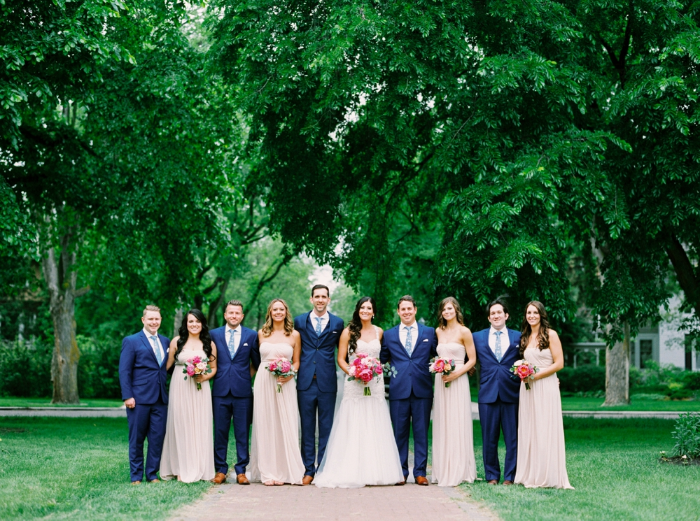 Calgary Wedding Photographers | Edmonton Wedding Photography | Millwoods Golf Course Wedding | Coral and Blush Neutral Wedding