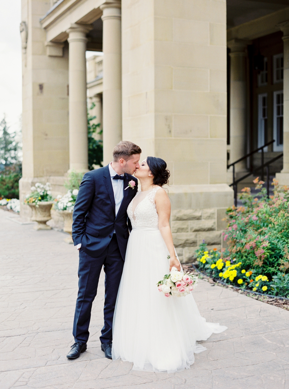 Calgary Wedding Photographers | Edmonton Vietnamese German Wedding | Watters wedding dress & multi colored asian dresses