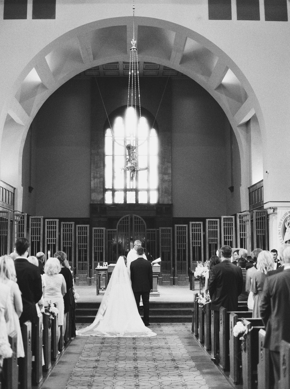 Calgary Wedding Photographer | Canmore Wedding Photographers | Banff Wedding Photography | Fairmont Palliser | Calgary Church | Blue bridesmaids