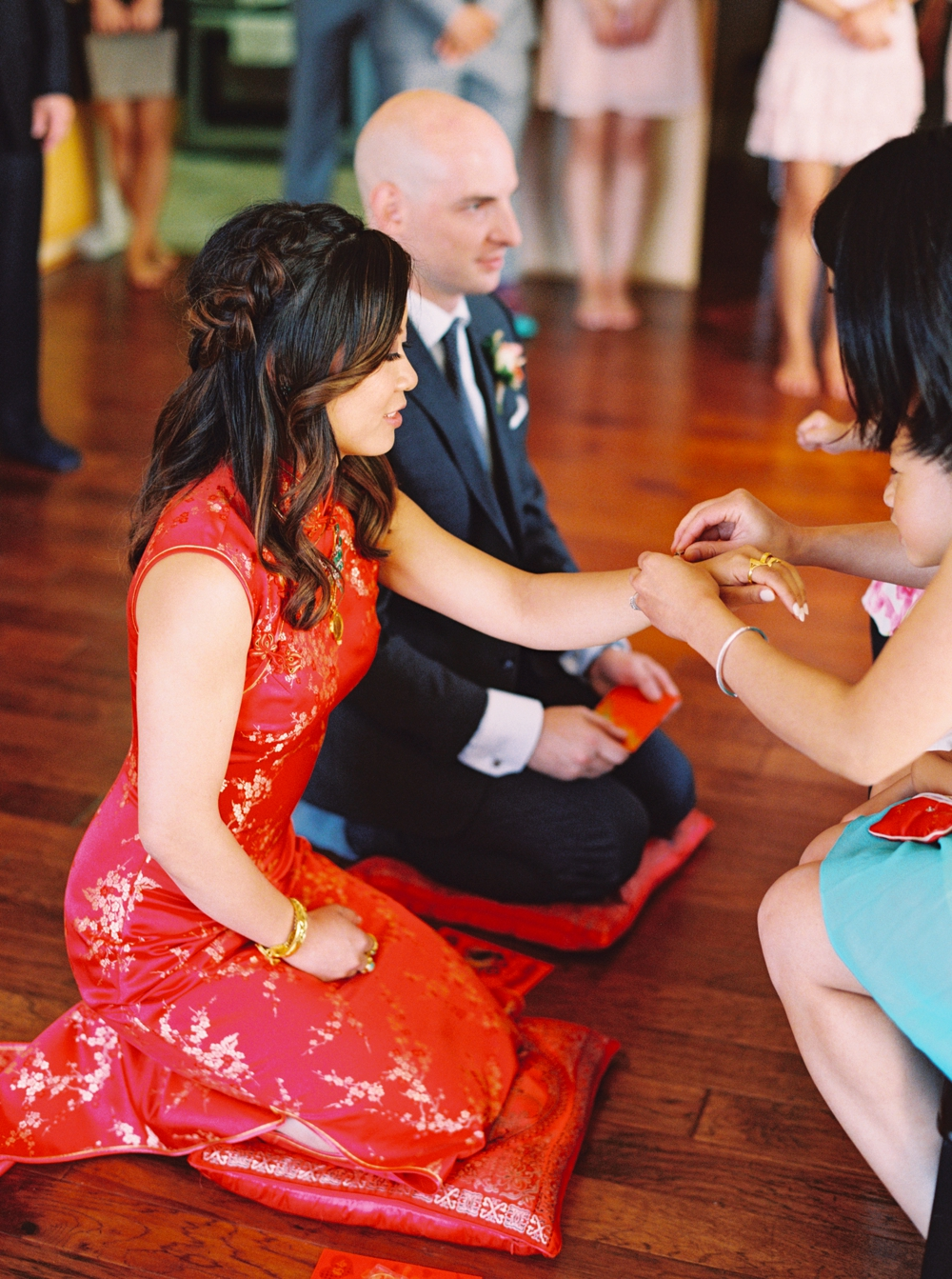 Calgary Wedding Photographer | Meadow Muse Pavilion Wedding | Canmore Photographers | Chinese Tea Ceremony