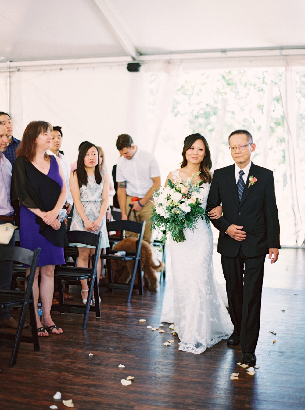Calgary Wedding Photographer | Meadow Muse Pavilion Wedding | Canmore Photographers | Fish Creek Park Wedding Ceremony | Tent Wedding