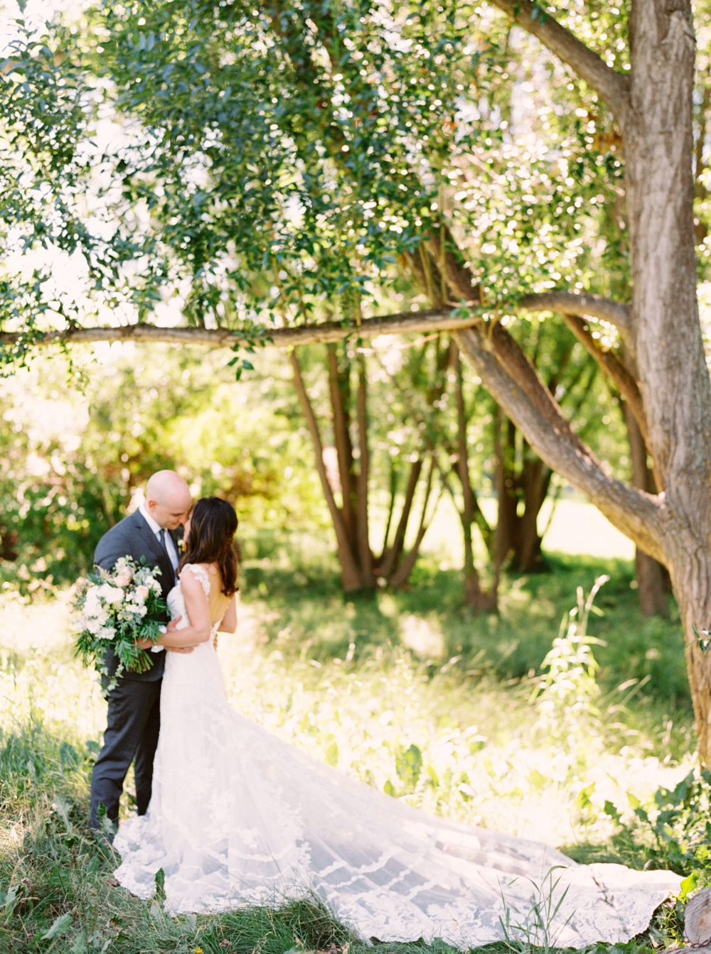 Calgary Wedding Photographer | Meadow Muse Pavilion Wedding | Canmore Photographers | Fish Creek Park | Bride & Groom
