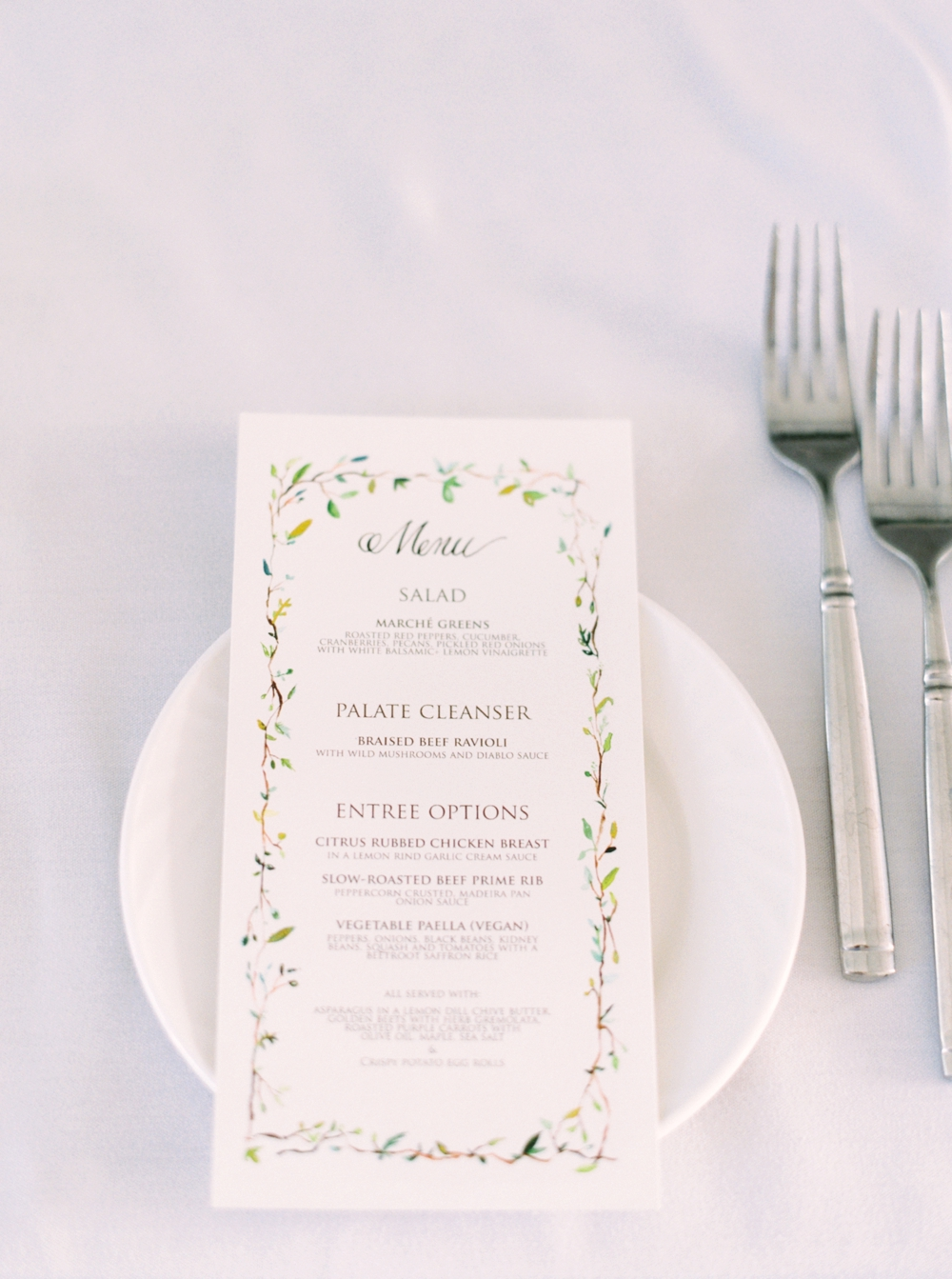 Calgary Wedding Photographer | Meadow Muse Pavilion Wedding | Canmore Photographers | Fish Creek Park | calligraphy menu