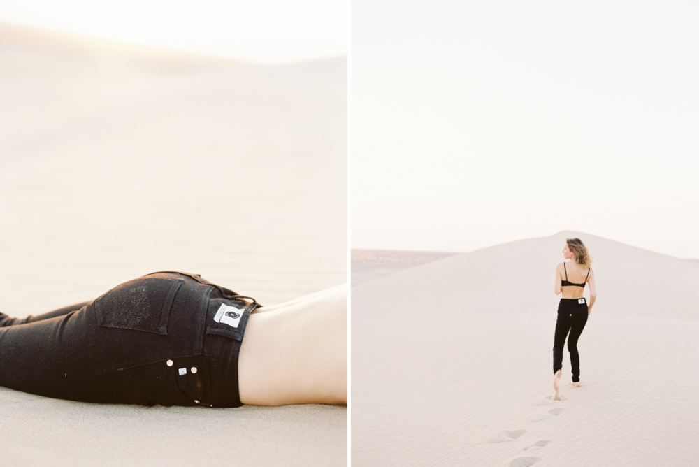 Calgary wedding photographers | Yuma and California sand dunes | Fashion and Lifestyle Blogger | Denim advertising | fashion photography