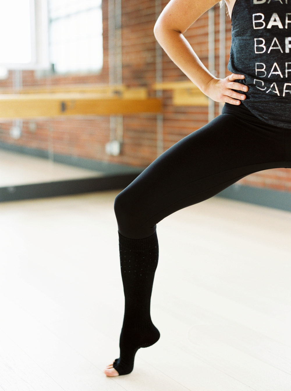 Calgary Commercial Photographers | Barre Body Studio | Workout Photography