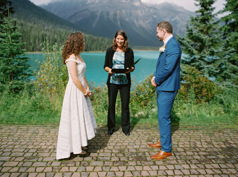 Calgary Wedding Photographers | Emerald Lake Lodge Photography | Rocky Mountains Elopement