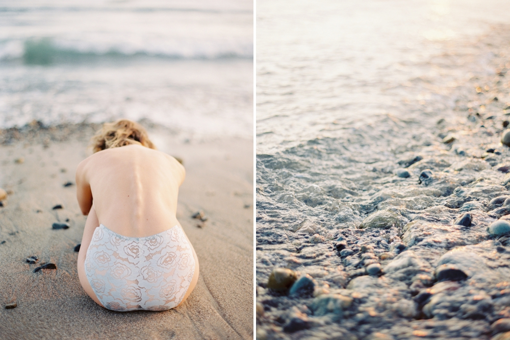 California photographer | beach boudoir session | fine art film photographer
