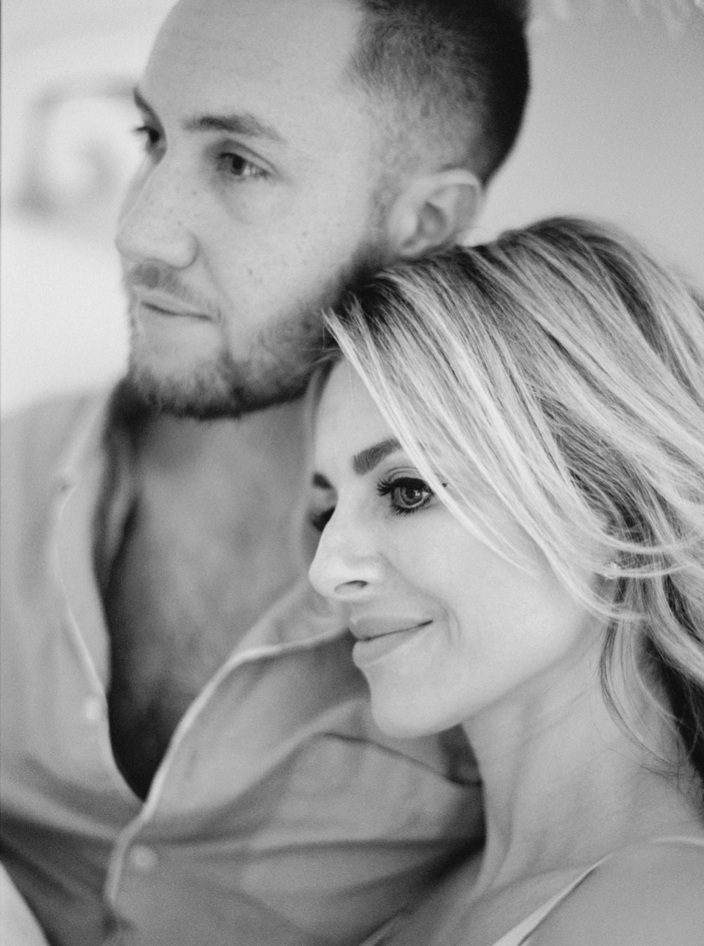 Calgary Wedding Photographers | Calgary couples photographer | In home session | intimate couples session | Justine Milton Photography