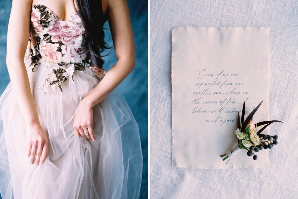 Trendy Bride Magazine | Modern Asian Styled Shoot | Fine Art Film Wedding Photographers | Dark and Moody Photography