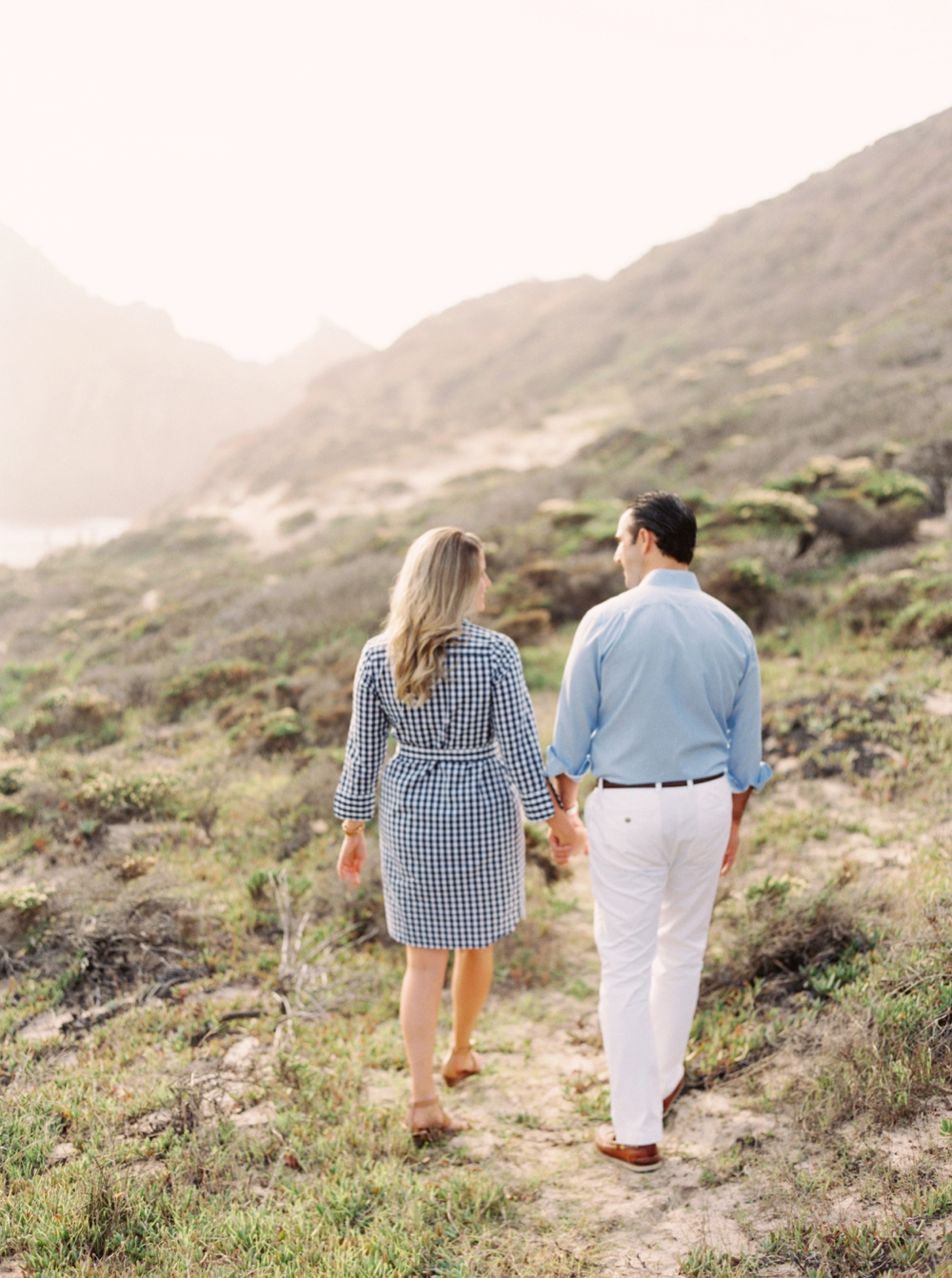 Big Sur California Engagement Session | California fine art film wedding photographers | Justine Milton Photography