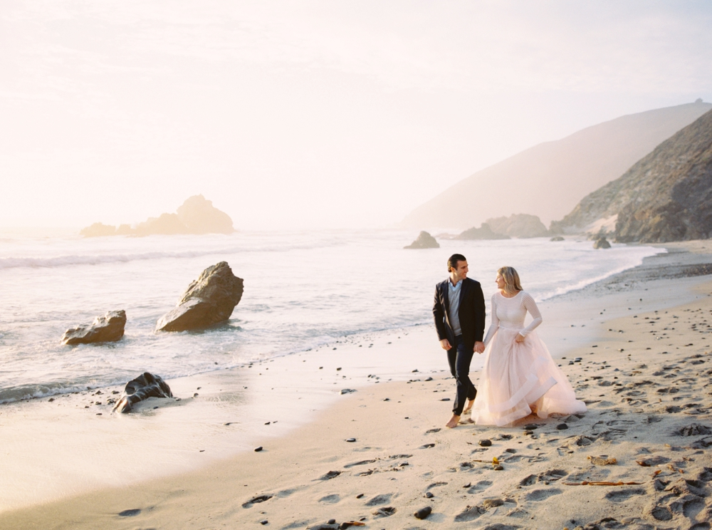 California Wedding Photographer | Bay Area | Big Sur Engagement Photography | Beach Wedding
