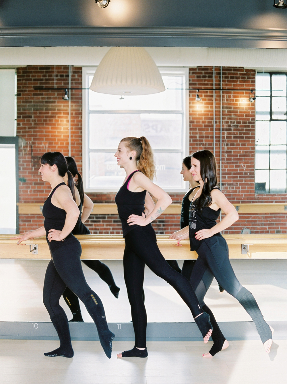 Barre Body Studio | Exercise Photography | Commercial Photographers