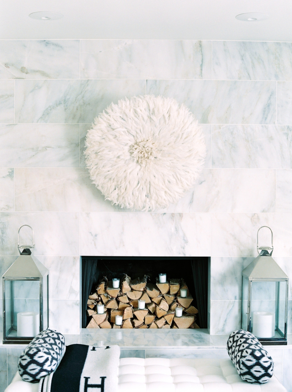 Calgary Interior Photographers | Commercial Photography | Erica Cook Interior Designer Moth Design Calgary | All White House
