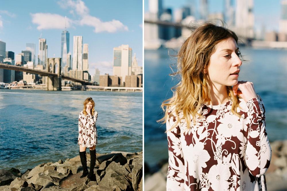 Calgary wedding and editorial photographers | fashion photography | calgary lifestyle bloggers | DUMBO New York City Travel