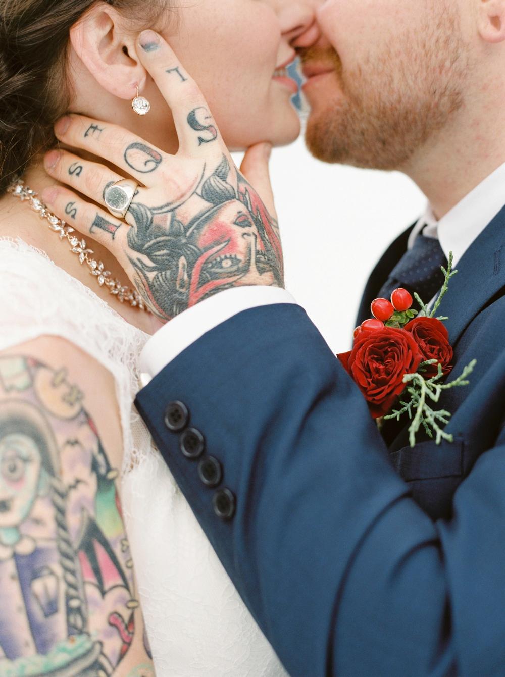 Emerald Lake Lodge Field British Columbia Elopement Photographers   Fine art film destination wedding photography   winter wedding