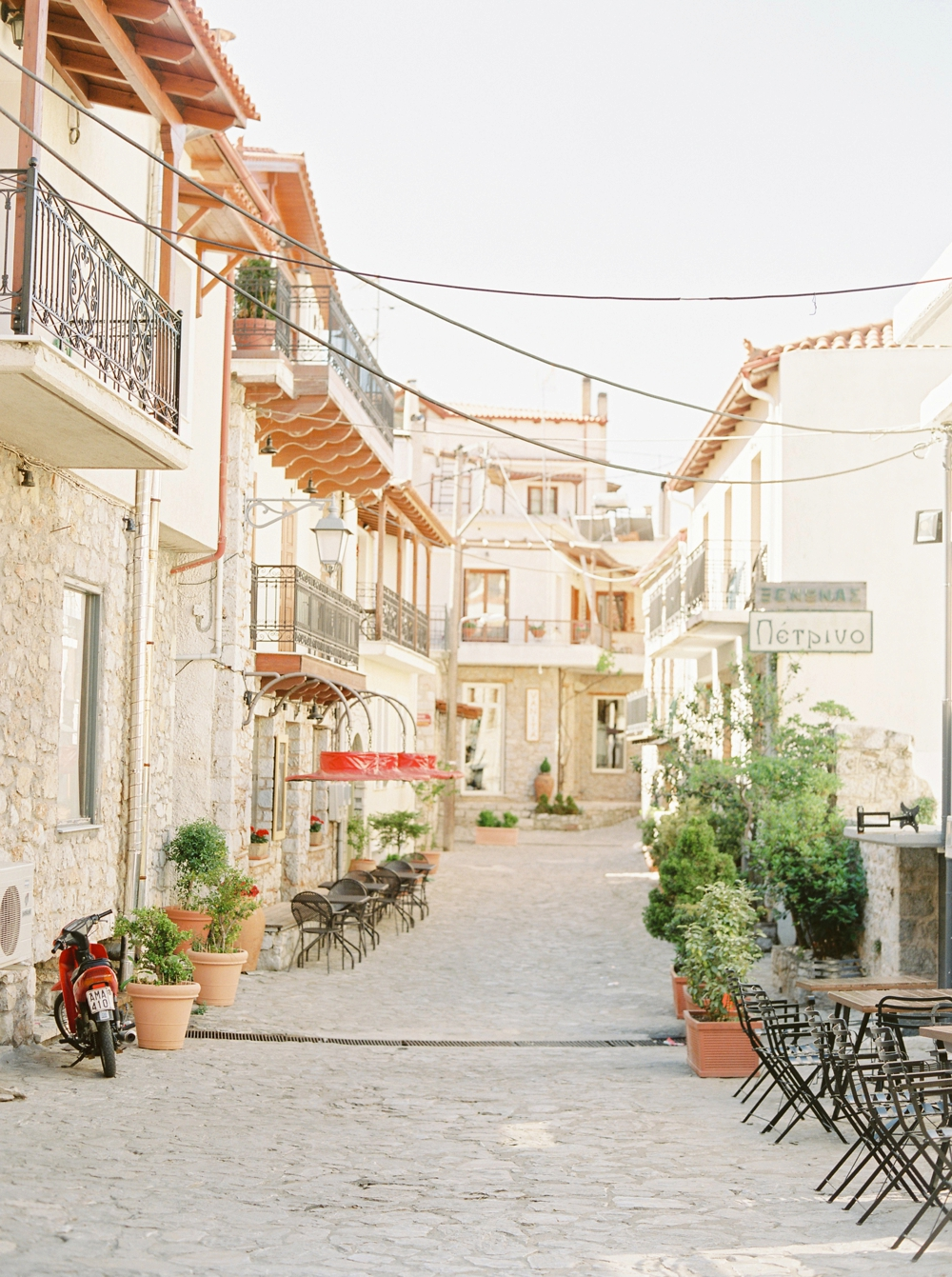 Arachova Greece Fine Art Film Travel Photography | Greece destination wedding photographers