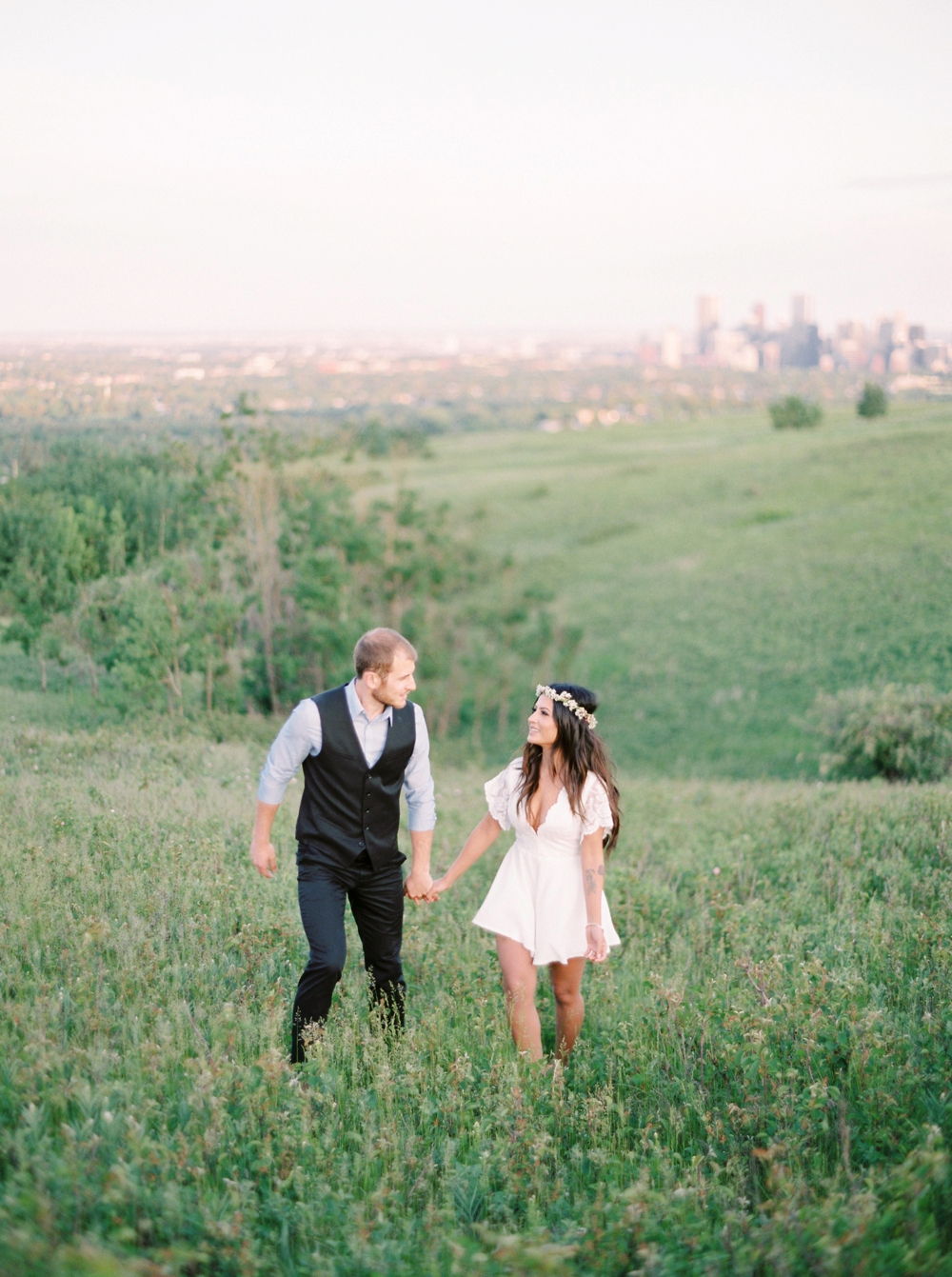Calgary wedding photographers | calgary engagement photography | destination fine art film wedding photographer
