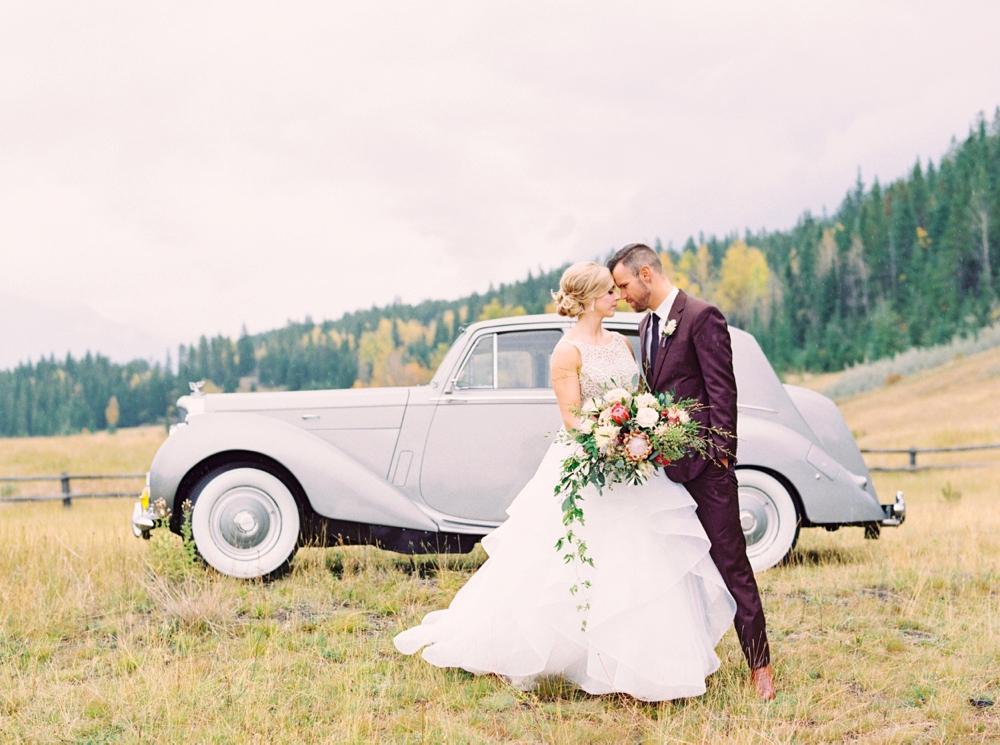 Canmore wedding photographers | Banff wedding photography | silvertip canmore wedding | fine art film photographer Justine Milton