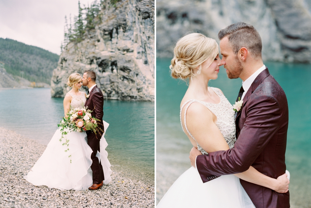 Canmore wedding photographers | Banff wedding photography | silvertip canmore wedding | fine art film photographer Justine Milton