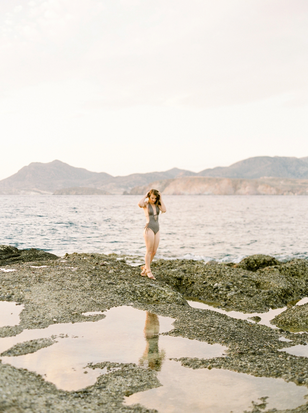 Greece destination wedding photographer | Milos sunset greek islands travel photography