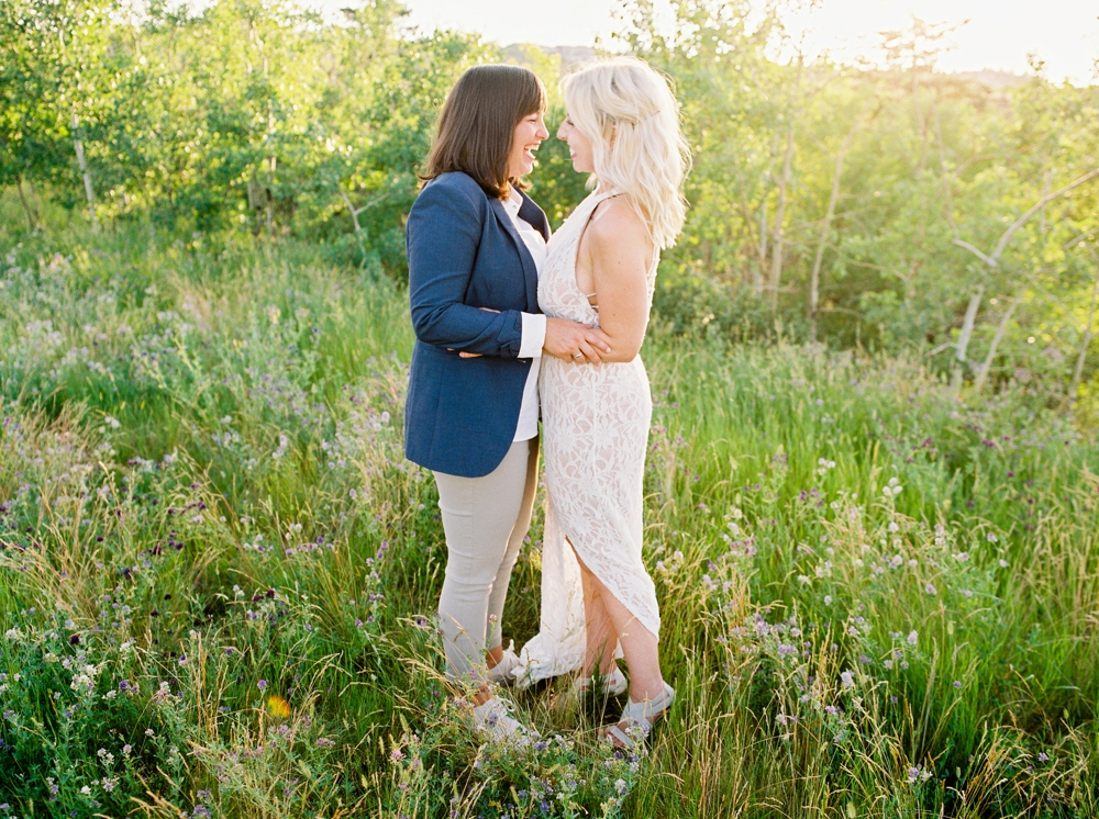 same sex couple engagement session | love is love | justine milton calgary fine art wedding and engagement photographer